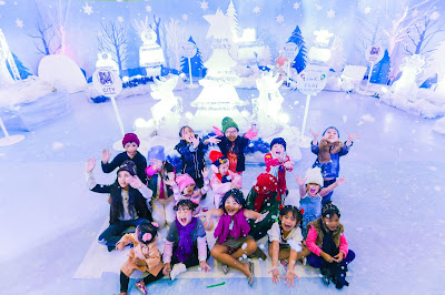 GLITTERING ICE FEST BRINGS WHITE CHRISTMAS TO SM CITY BALIWAG