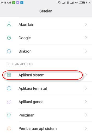 Cara Menyalin dan Memindahkan data kontak di Smartphone Xiaomi
