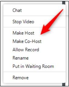 Cara Membuat Co Host di Zoom