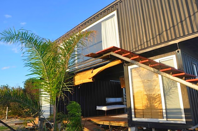 2x40 ft and 2x20 ft Shipping Container Home by Project Container, Uruguay 6