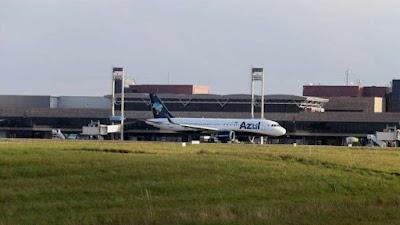 Passageira morre dentro de avião no aeroporto Afonso Pena