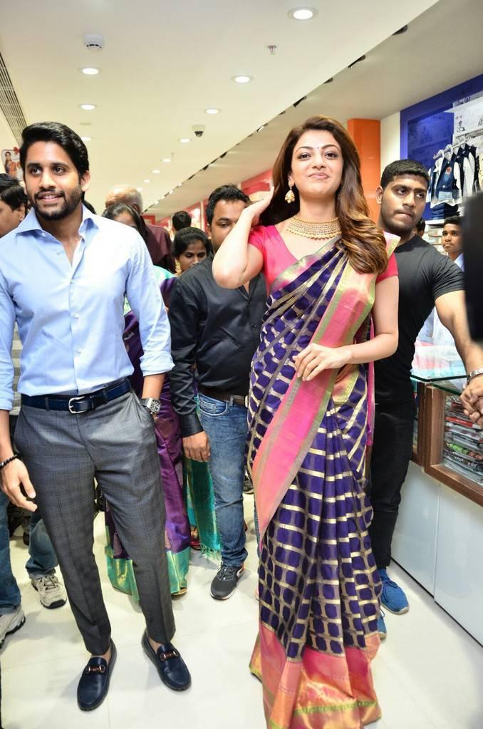 Kajal Aggarwal Photos At Chennai Shopping Mall Opening