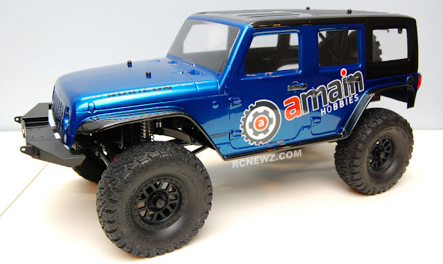 Axial SCX10 II Build Pictures