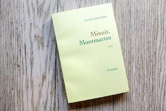 Lundi Librairie : Minuit, Montmartre - Julien Delmaire