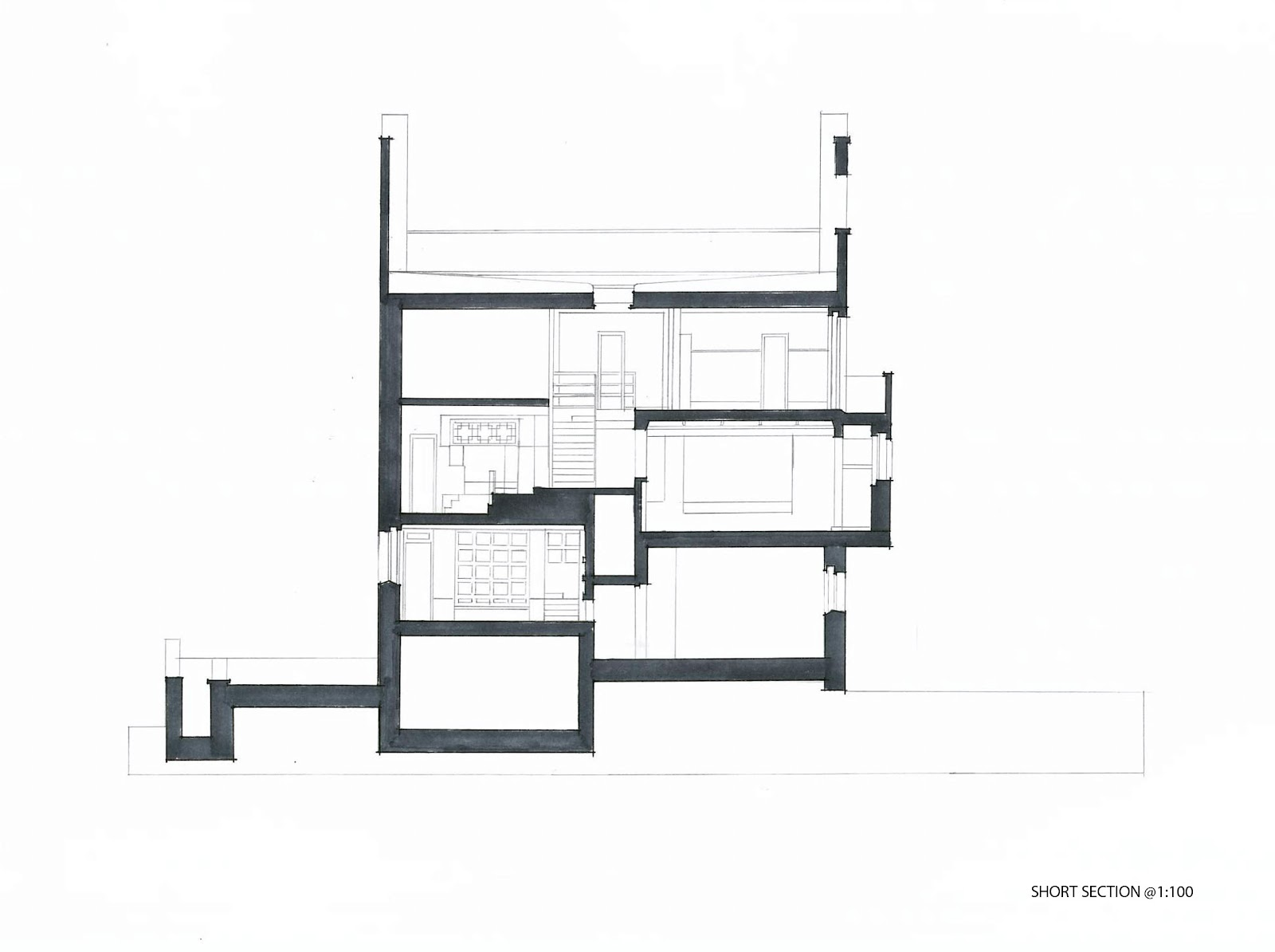 Ding Arch 1201 Project1 Villa Muller Drawing Set