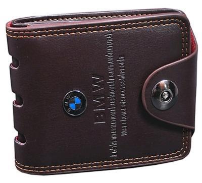Unique Men's Pu Brown Wallet (synthetic Leather/rexine)