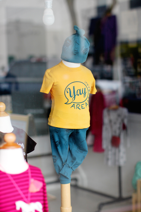 Yay Area kids' t-shirt by Kira Kids