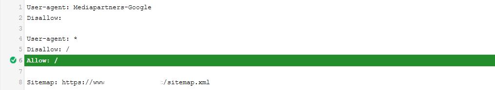 Mengatasi Blog Diindeks, meski diblokir oleh robots.txt