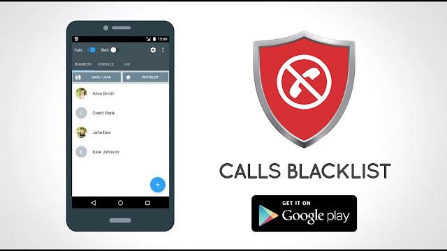 تحميل برنامج calls blacklist لحظر المكالمات والرسائل باخر اصدار