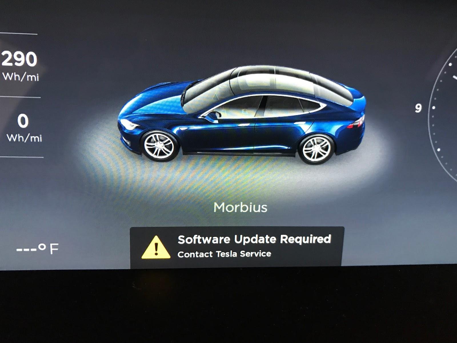 How to update tesla software
