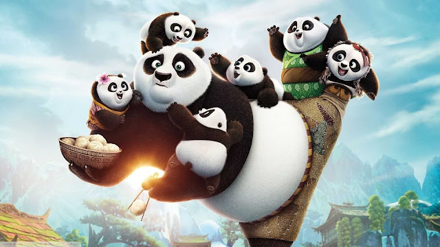 background panda wallpaper