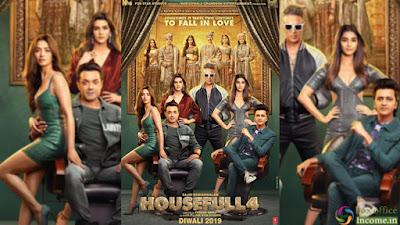 Housefull 4 full Movie Download 720p/480p Hindi