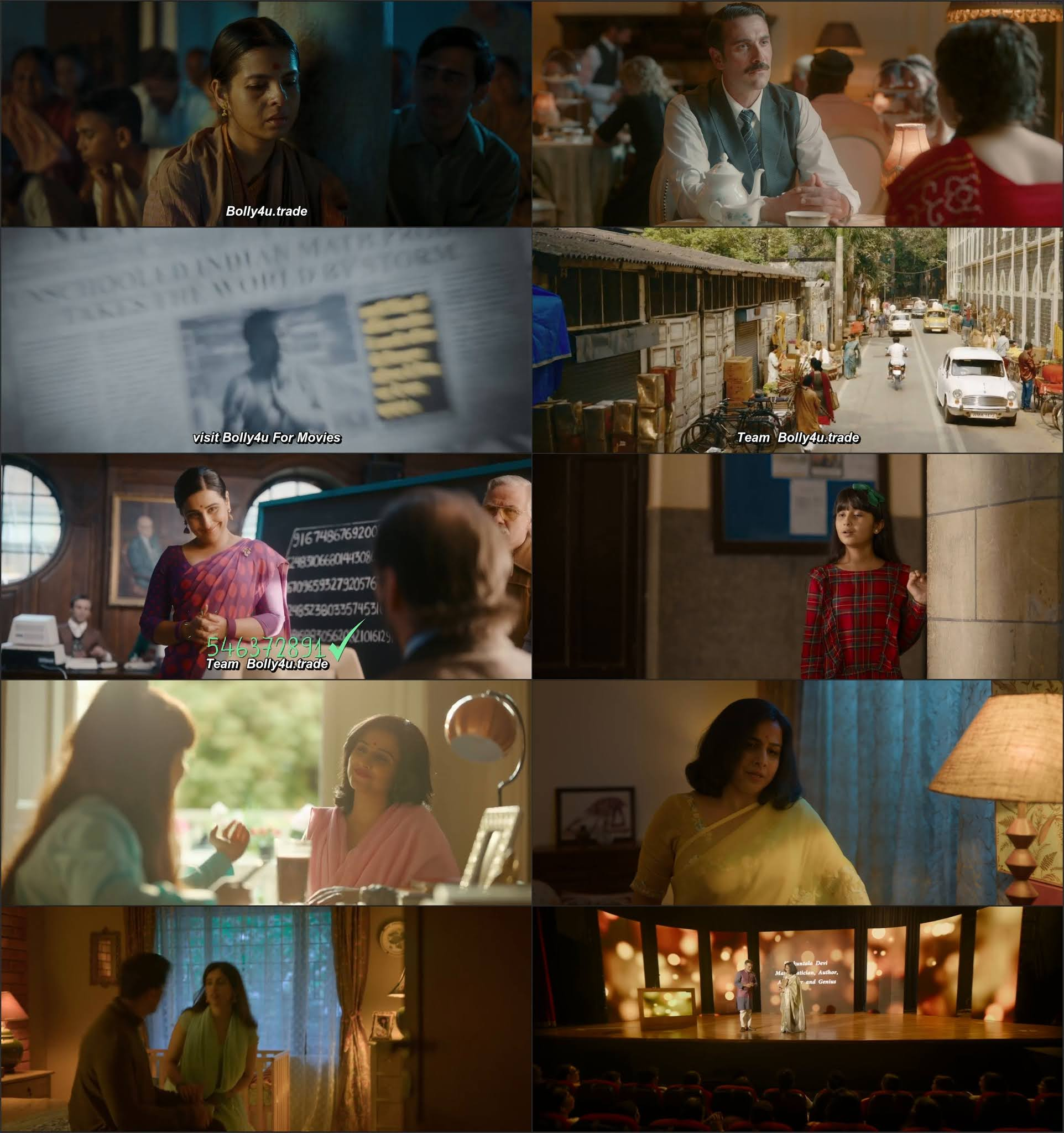 Shakuntala Devi 2020 WEB-DL 400Mb Hindi 480p Movie Download