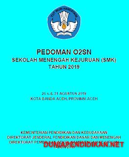 Juknis O2SN SMK Tahun 2019