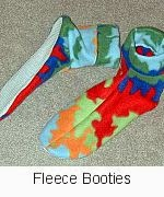 Link to PDF for Fleece Booties