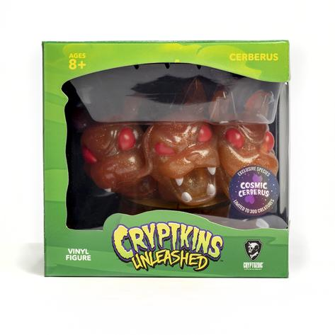 SDCC 2021 Cryptozoic Cryptkins Unleashed Cosmic Collection Vinyl Figures Cosmic Cerberus 01