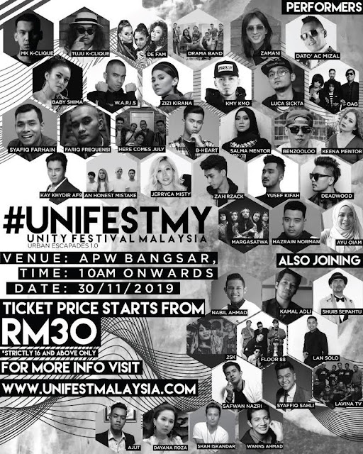 UNITY FESTIVAL MALAYSIA