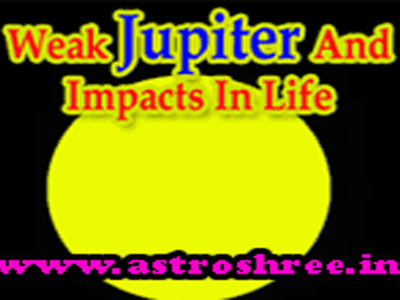 weak jupiter effects on life by astrologer