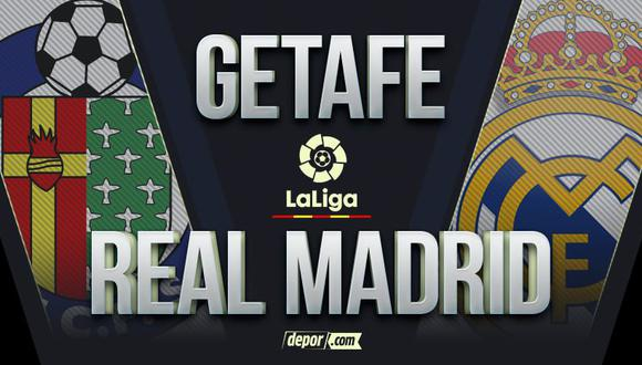 Real Madrid vs. Getafe:  por LaLiga 2021