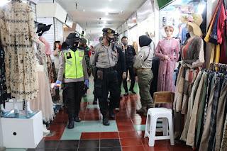 Operasi Yustisi, Polres Pelabuhan Bersama TNI, Satpol Razia Penggunaan Masker di Pasar