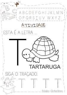 Atividade letra T