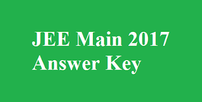 JEE Main 2017 Answer Key