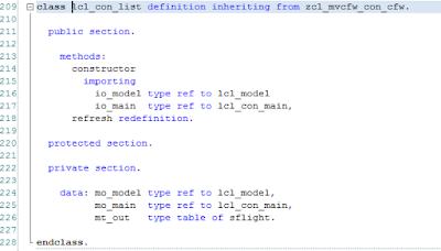 MVC (model view controller) framework for ABAP part 2