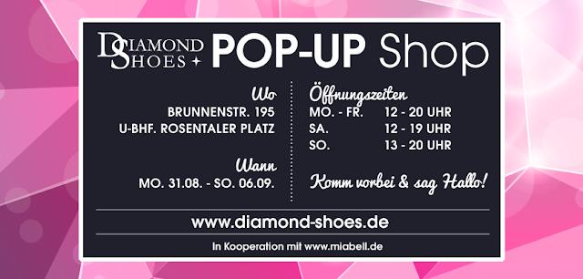 Diamond Shoes Pop-Up Shop