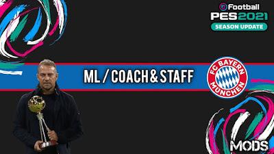PES 2021 ML Coach & Staff Bayern Munchen by Kunpup