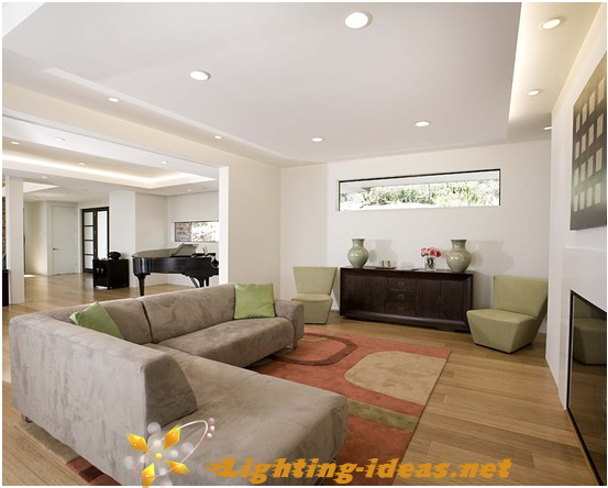 Nice Placing Recessed Lighting In Living Room. Table Performance, Part 23
