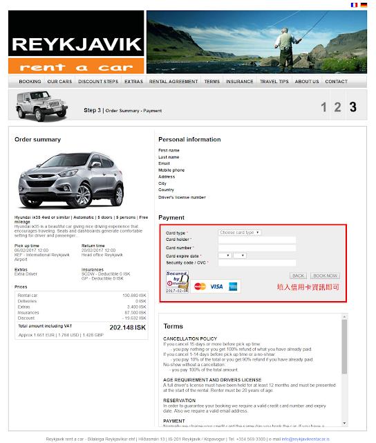 兔兔家族跑跑跑: 【Iceland】 Car Rental Precautions_Reykjavik Rent A Car