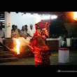 Fighter god's Performance amidst the fire .. Veeran theyyam performed at chidiyarkulangara temple Vengara, kannur,india