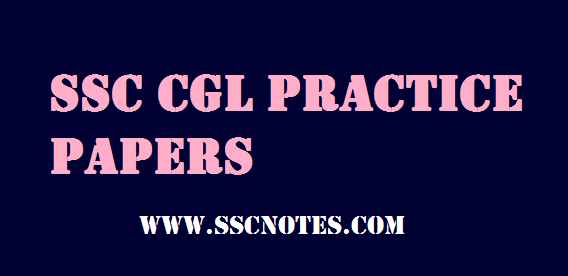 SSC CGL Exams Paramount Practice Papers PDF Download