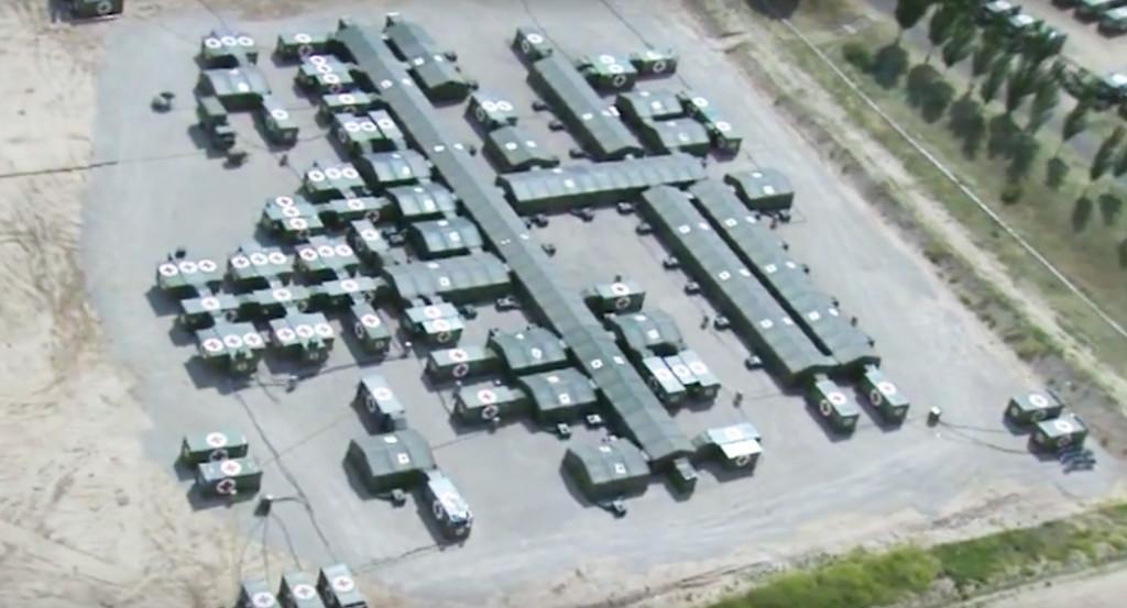 Pedro Sánchez (el inútil) cerró la unidad militar capaz de levantar hospitales hace 9 meses