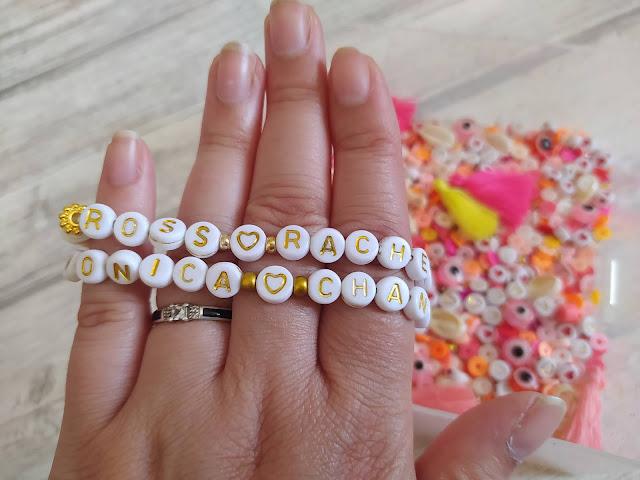 DIY : Perles Heishi bracelets Friends