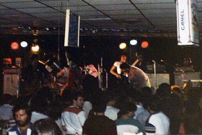 Trigger on stage with the band Orphan at The Colonel's Garter... 1981