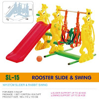 Slide and Swing Ching Ching SL15 Rooster