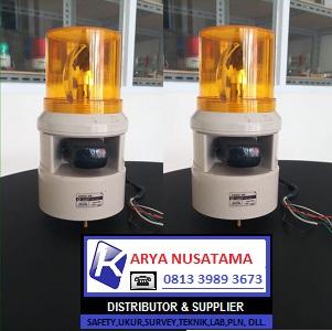 Jual Lampu Sirine QLIGHT S100D-WS 220V Kuning di Malang