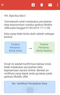 Cara mudah pindah faskes BPJS Kesehatan melalui aplikasi Mobile JKN 7