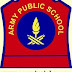 Army Public School, Job opening at various position: 2018 [offline]