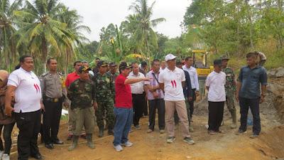 Walikota Bandar Lampung Tinjau Lokasi TMMD ke-103