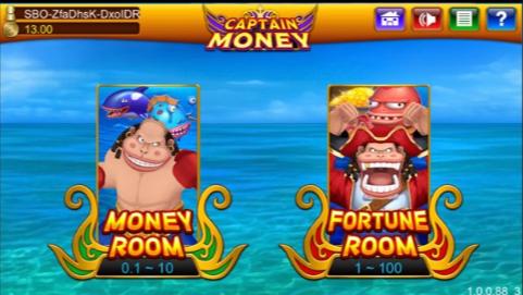 Tembak Ikan Captain Money