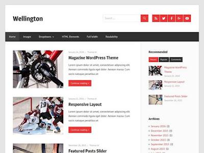 Wellington WordPress Theme