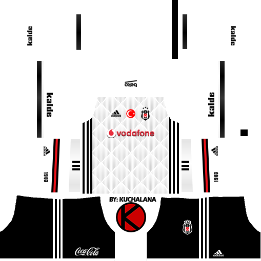 Besiktas J K  2017/18 - Dream League Soccer Kits - Kuchalana