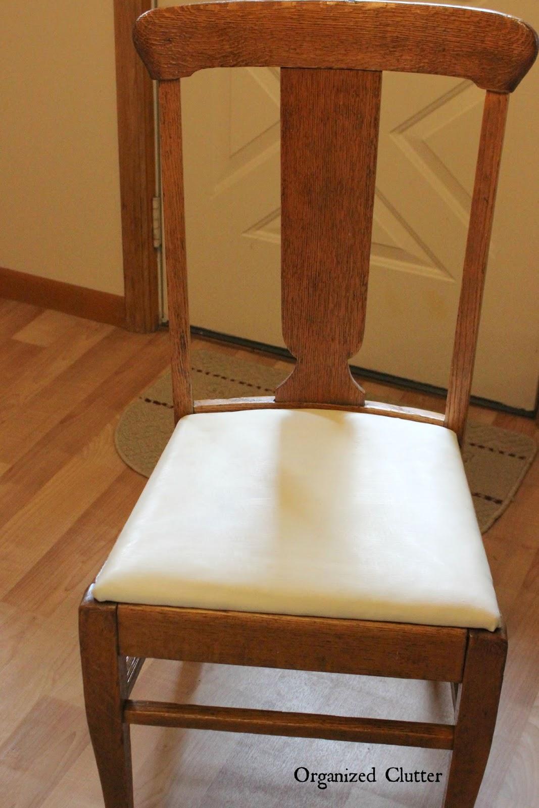 Kitchen Chair Update | Organized Clutter