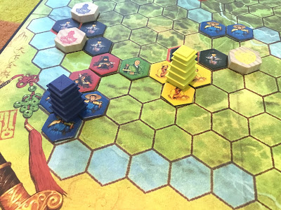 Sodan seuraukset Yellow & Yangtzessa