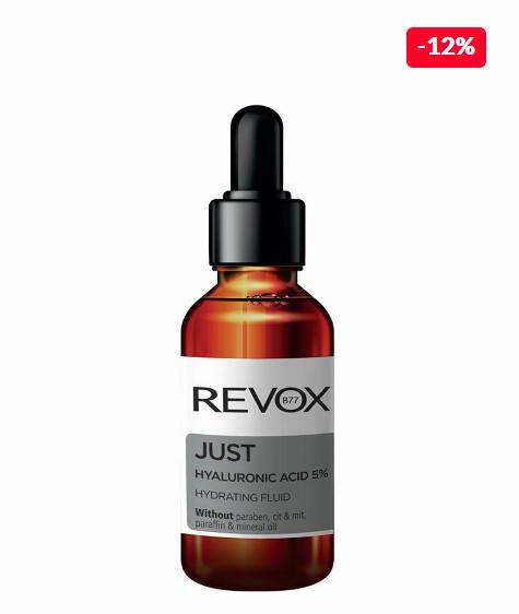 Serum hidratant Revox Just Hyaluronic Acid 5%, 30ml