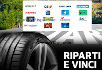 Logo '' Con Hankook riparti e vinci '' : in palio buoni shopping da 250€ ( Amazon e non solo) 1 da 2.000€