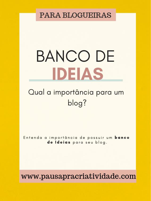 Importância de possuir um bando de ideias para blog