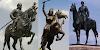 योद्धाओं की मूर्ति में घोड़ों की टांगे कभी ऊपर कभी नीचे क्यों होती है | GK IN HINDI